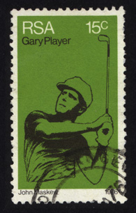 Stamps Gary Player